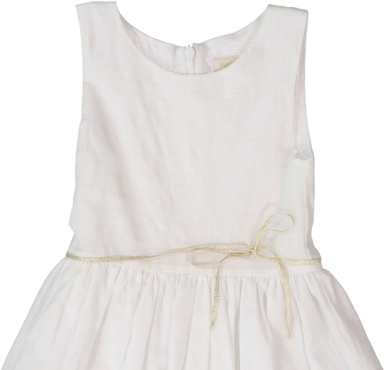 JODY DRESS, WHiTE - 1