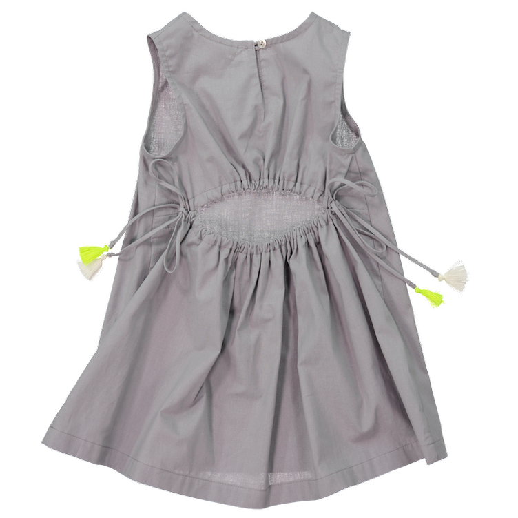MiA DRESS, GRAY - 1