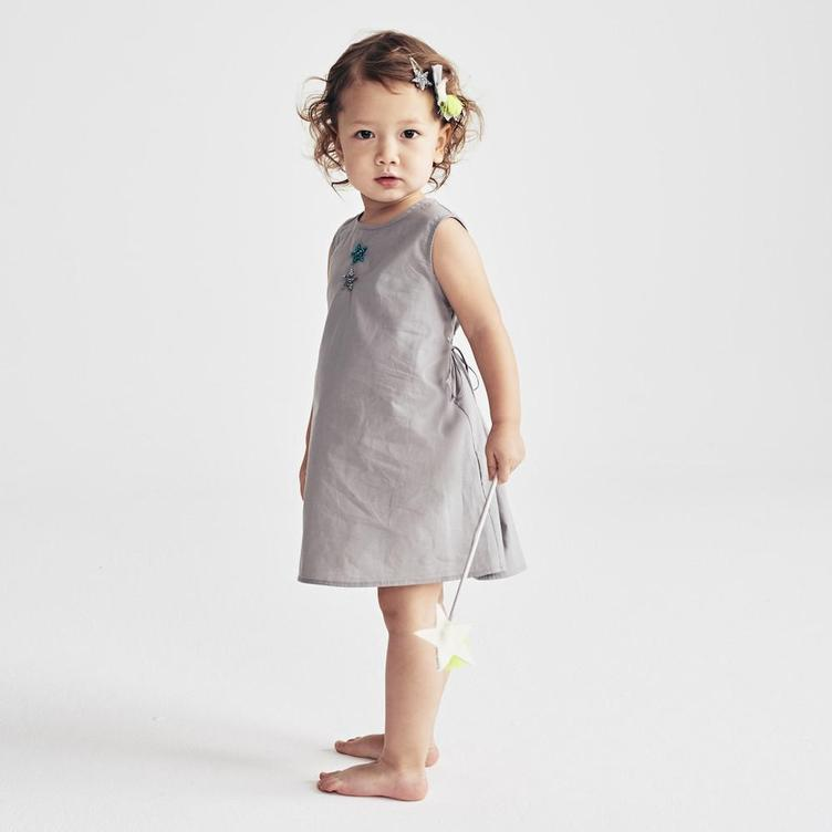 MiA DRESS, GRAY - 0