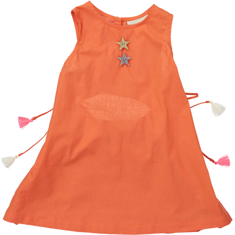 MiA DRESS, ORANGE
