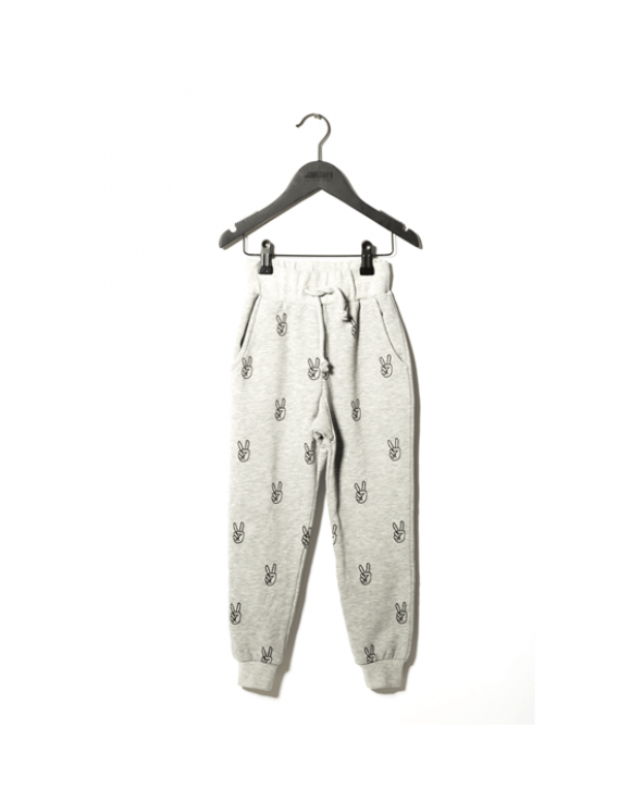 Jogginghose Power, grey melange