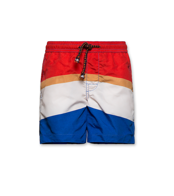 Badeshorts gestreift - ink