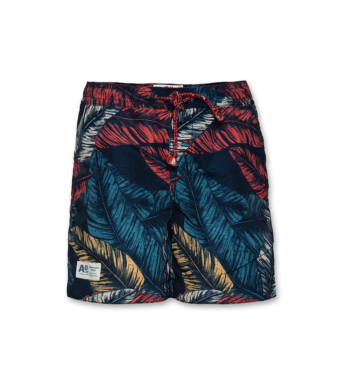 Badeshorts Leaves - multicolour