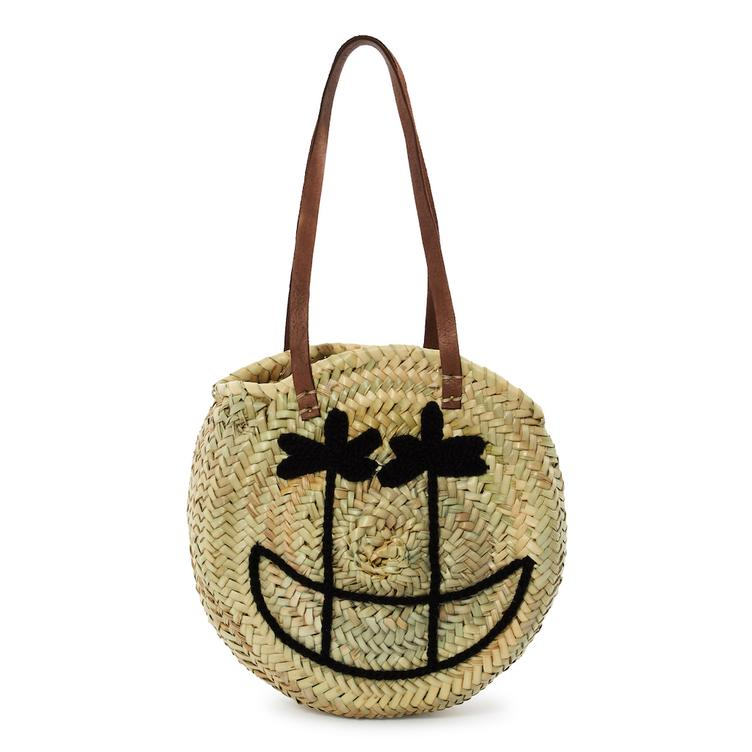 Basttasche Palm Smile