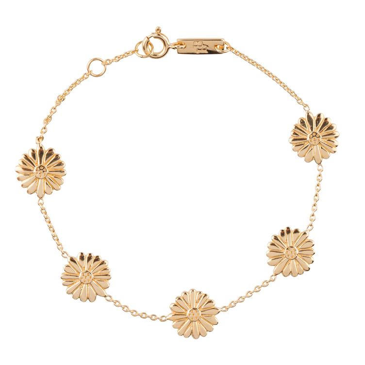 Bloom when you are ready - Armband Mutter - gold