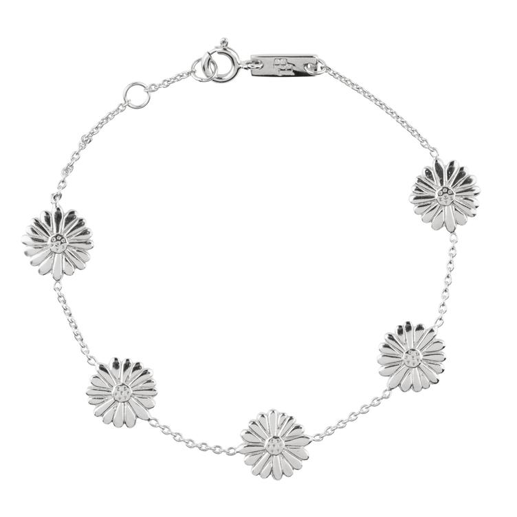 Bloom when you are ready - Armband Mutter - silber