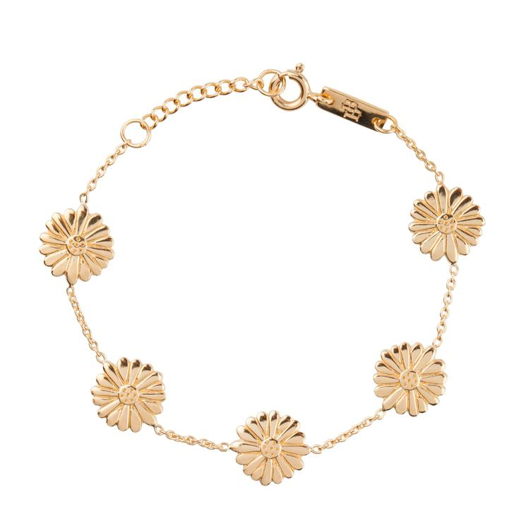 Bloom when you are ready - Armband Tochter - gold