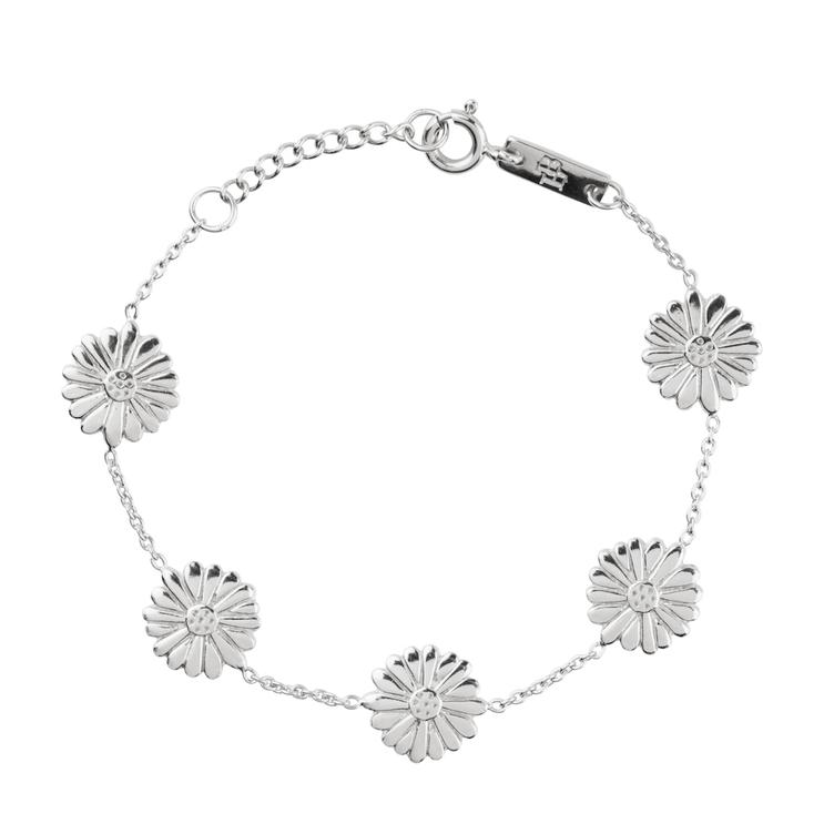 Bloom when you are ready - Armband Tochter - silber