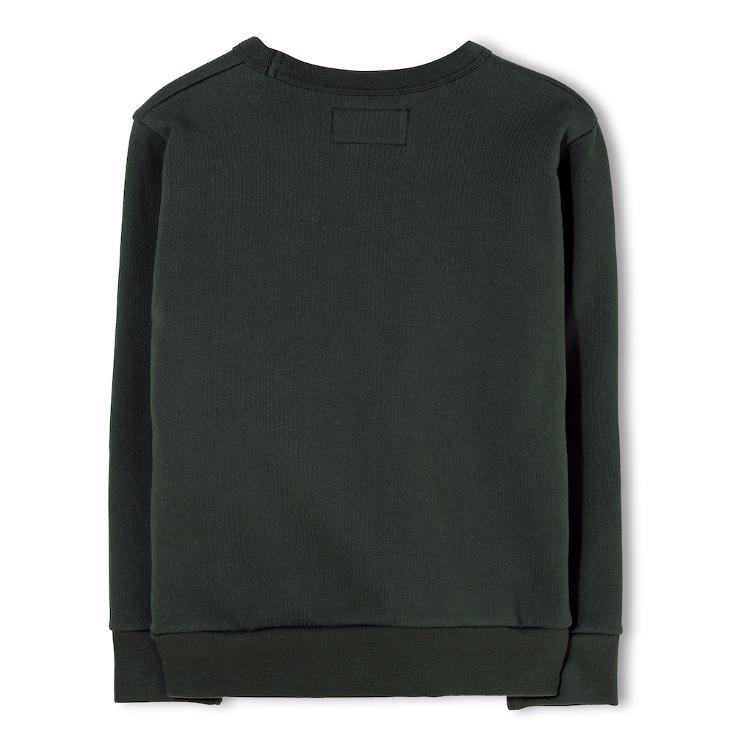 Brian Moto Crew Neck Sweater - ash black - 0