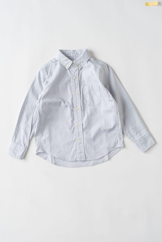Button Down Hemd in Hellblau