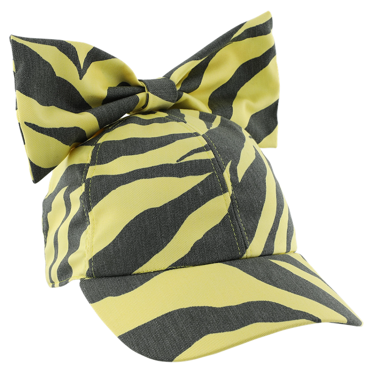 Cap Zebra yellow
