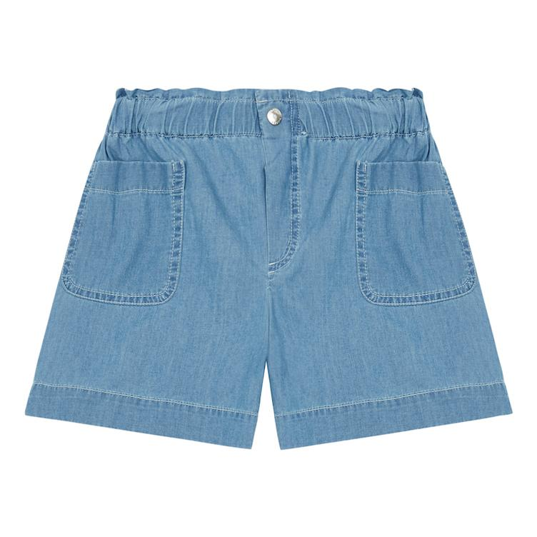 Chambray Shorts - bleached denim