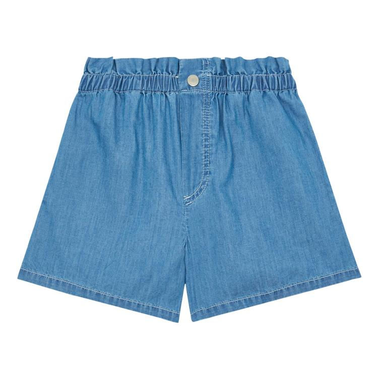 Chambray Shorts - denim blue