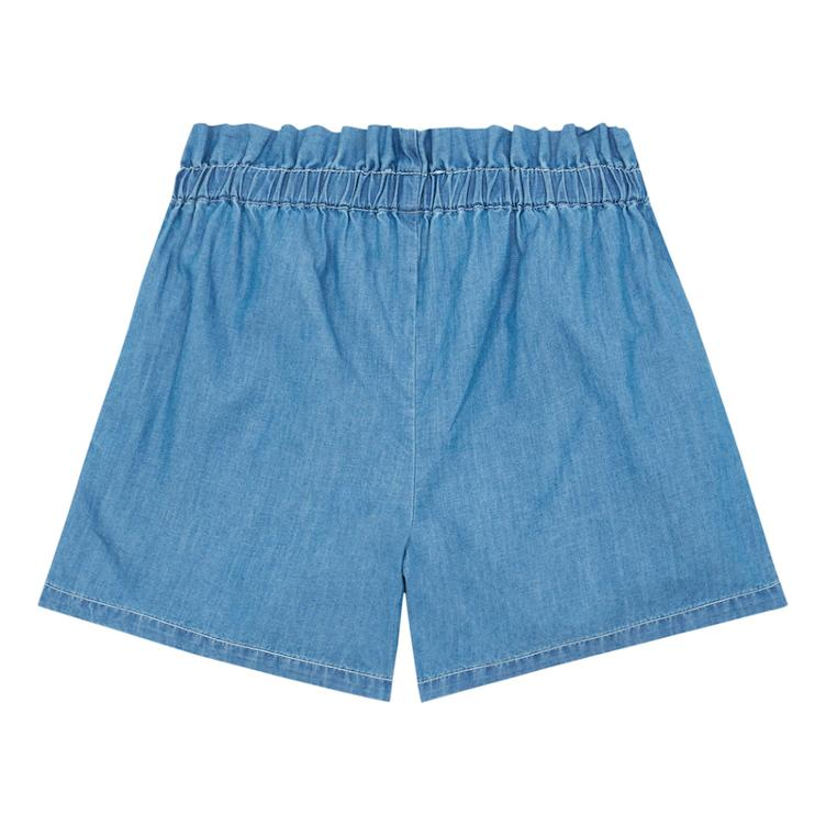 Chambray Shorts - denim blue - 0