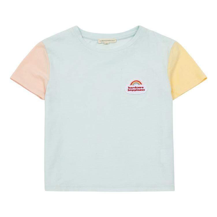 Color Block T-Shirt - Celadon