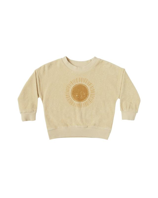 Crew neck Sweatshirt Sun - butter