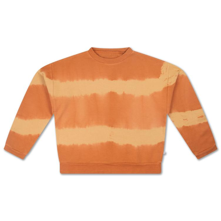 Crewneck Sweater - fudge marble