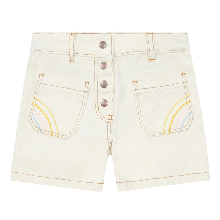 Denim Shorts - Mastic