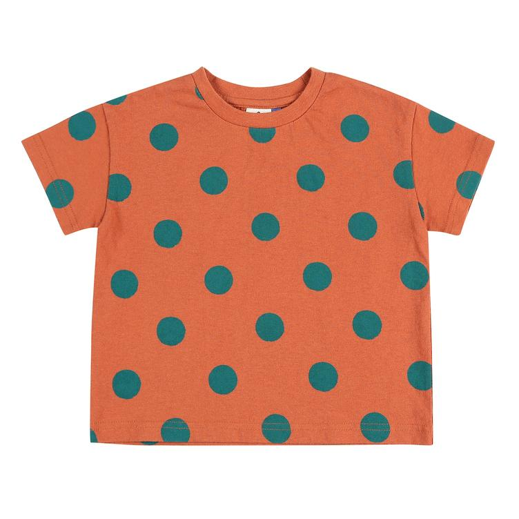 Dotted T-Shirt - brick red