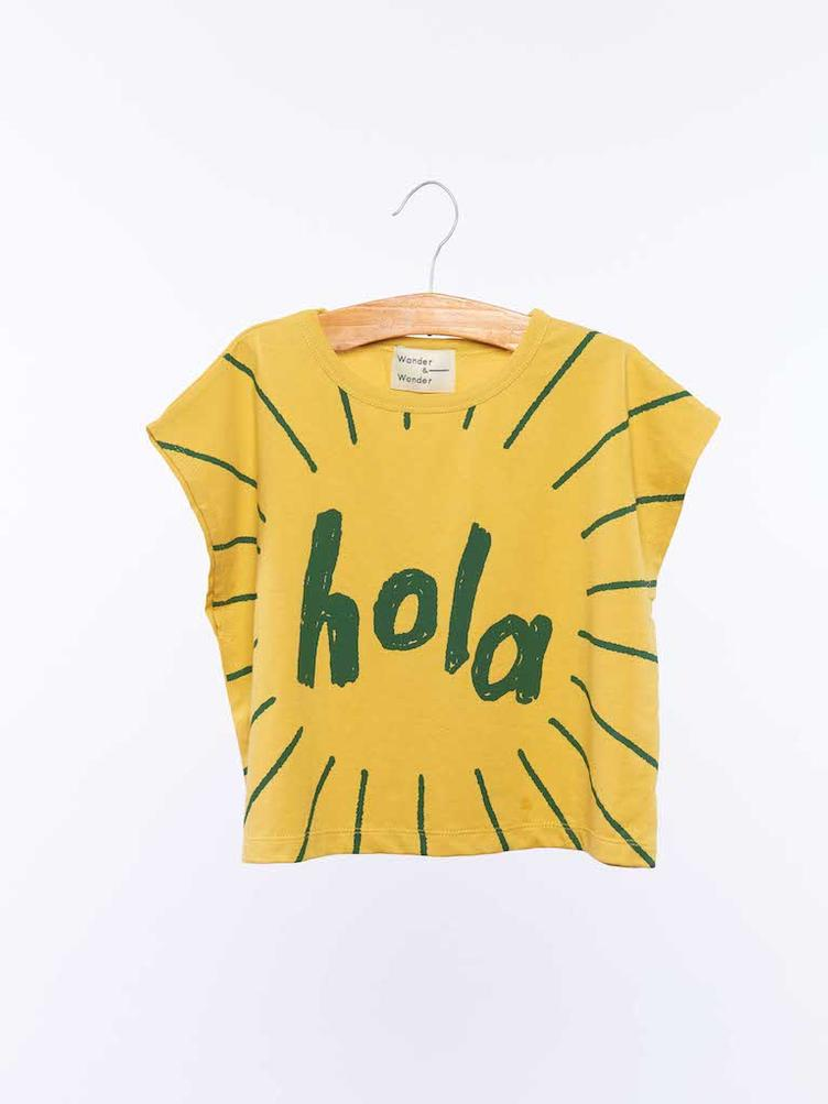 Drop Shoulder T-Shirt - Sunshine