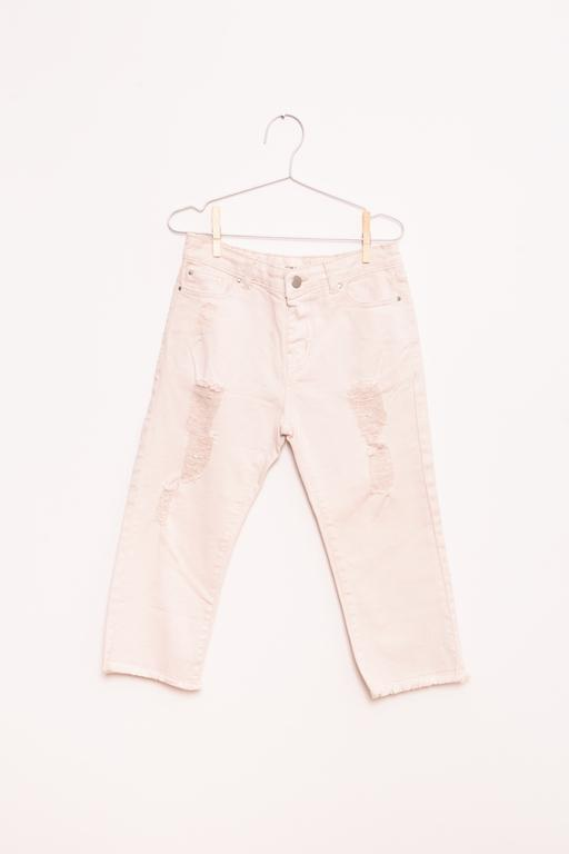 Jeans im destroyed Look - Light Pink