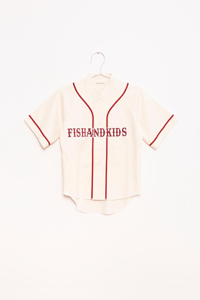 Baseball Top - Ecru