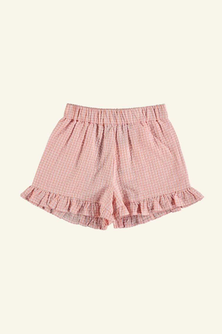 Fraise Shorts - check pink