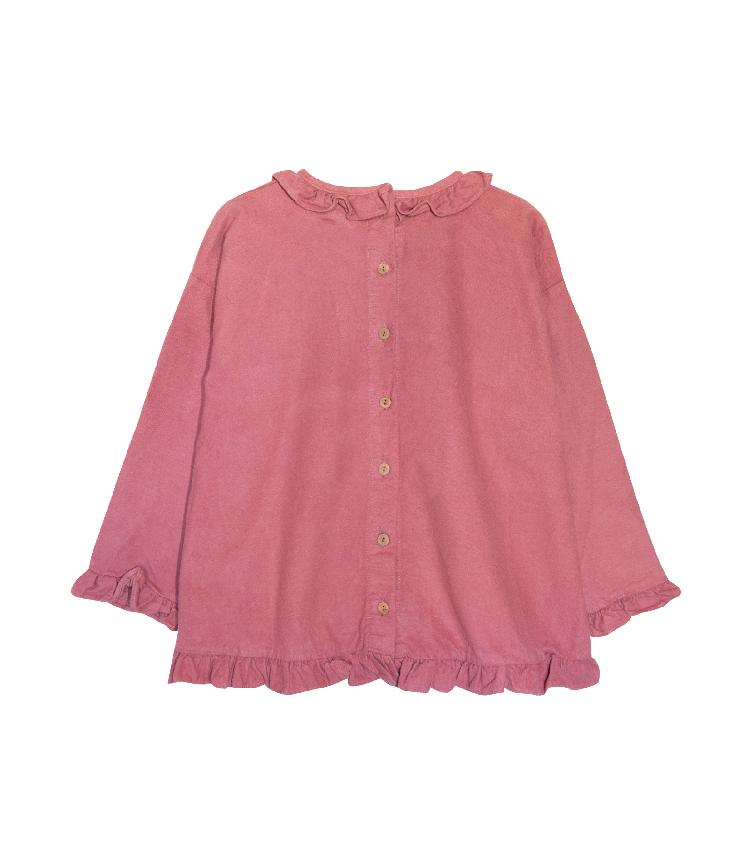 Freesia Bluse in Berry - 1