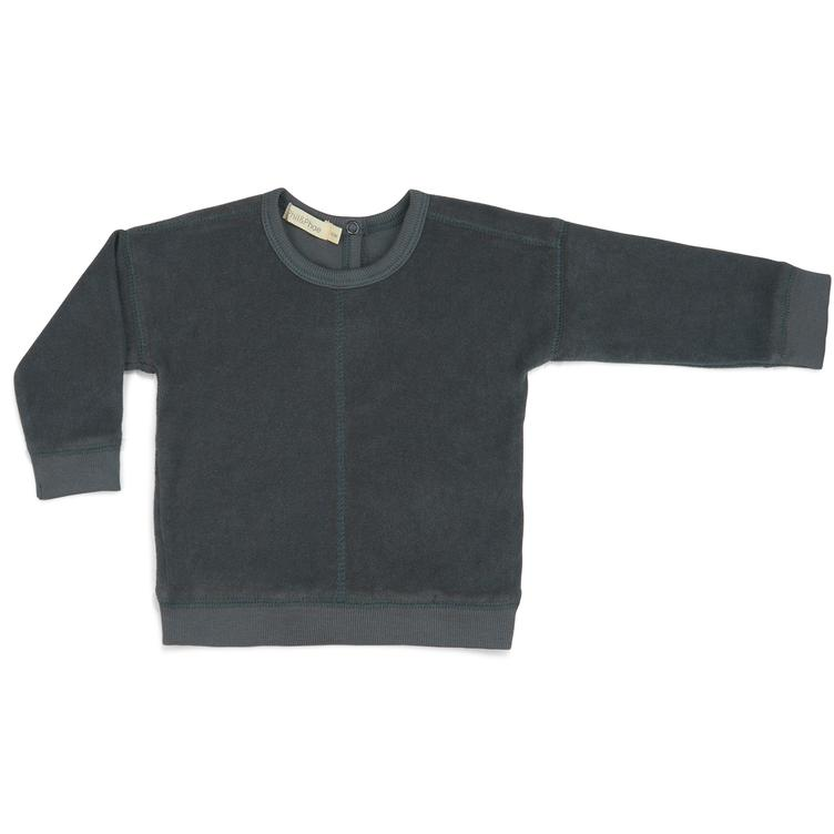 Frottee Sweater - Slate Green