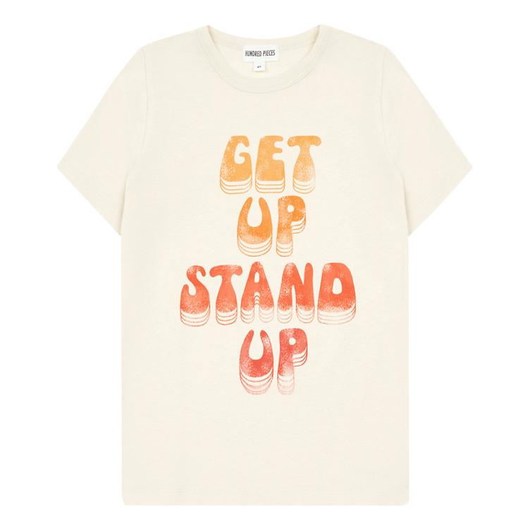 Get Up Stand Up T-Shirt - Mastic