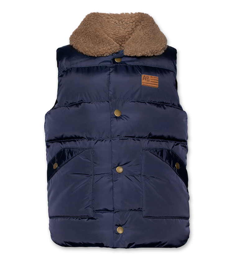 Gilet Light Nylon Bodywarmer - dark navy