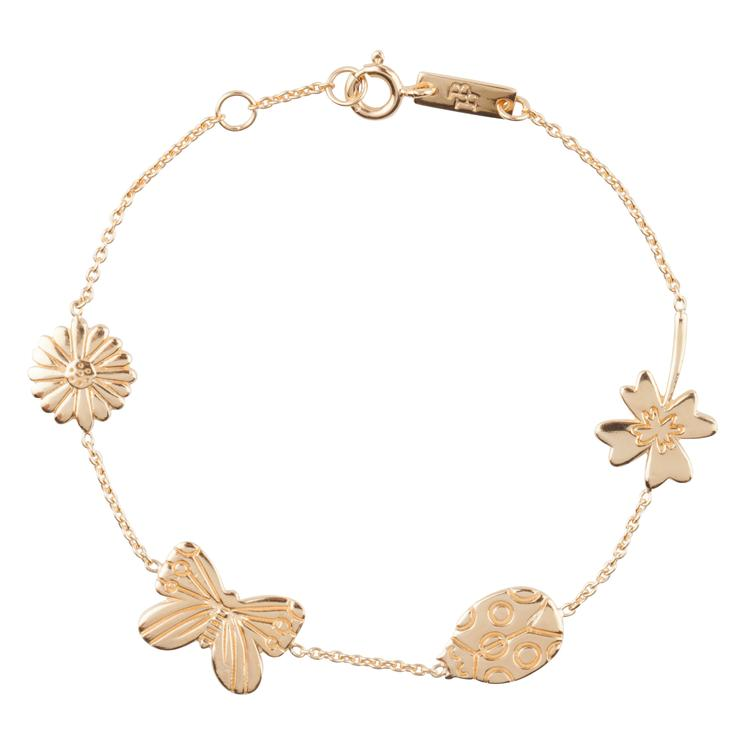 Grow & Bloom - Armband Mutter - gold