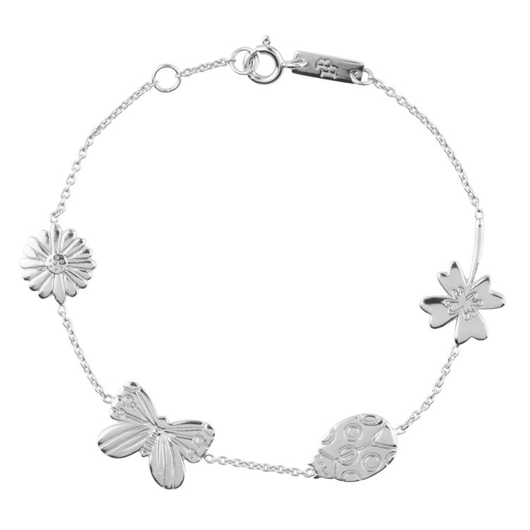 Grow & Bloom - Armband Mutter - silber