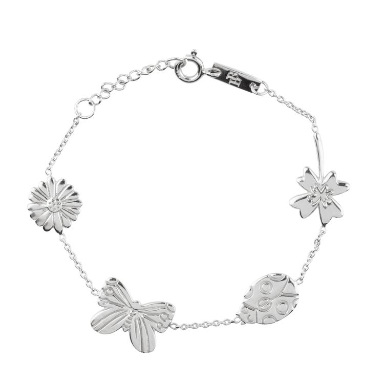 Grow & Bloom - Armband Tochter - silber
