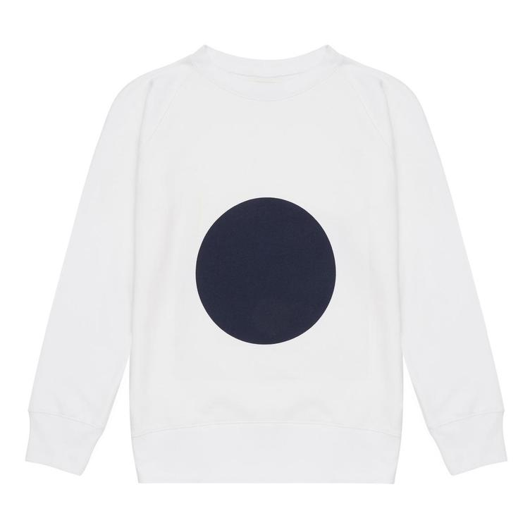 GEOMETRIC SWEATSHIRT, Walala, weiss-navy