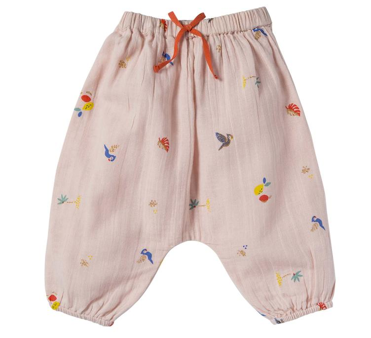 Hose Willy Tropical - pink