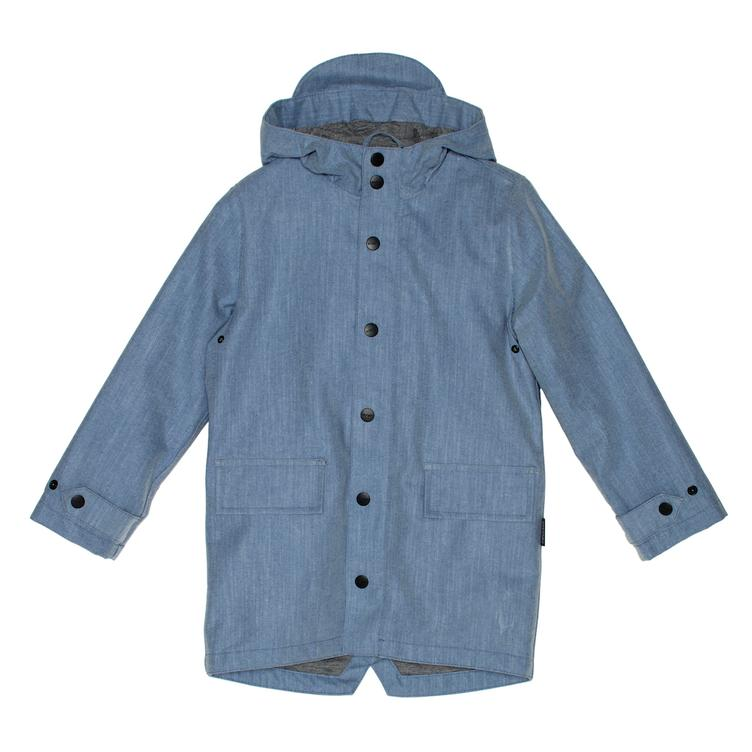 Jacke Lazy Geese gefüttert - denim coated