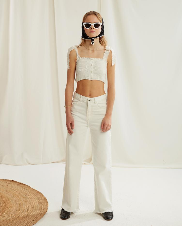 Jeans Daria - Off-White