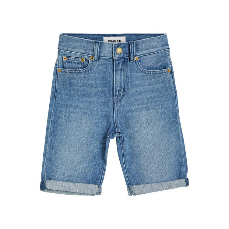 Jeans Shorts Edmond in Medium Blue