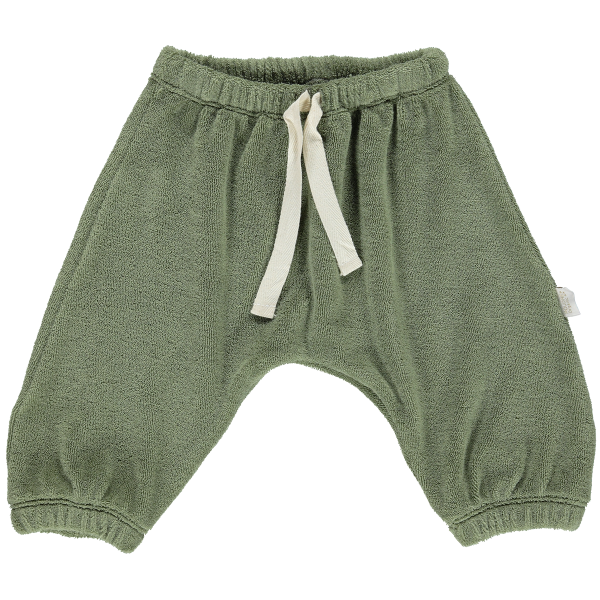 Jogginghose Canelle Eponge - Oil Green