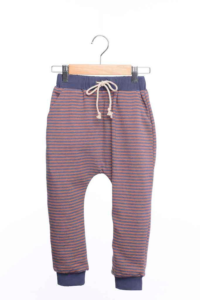 Jogginghose - Navy Stripe