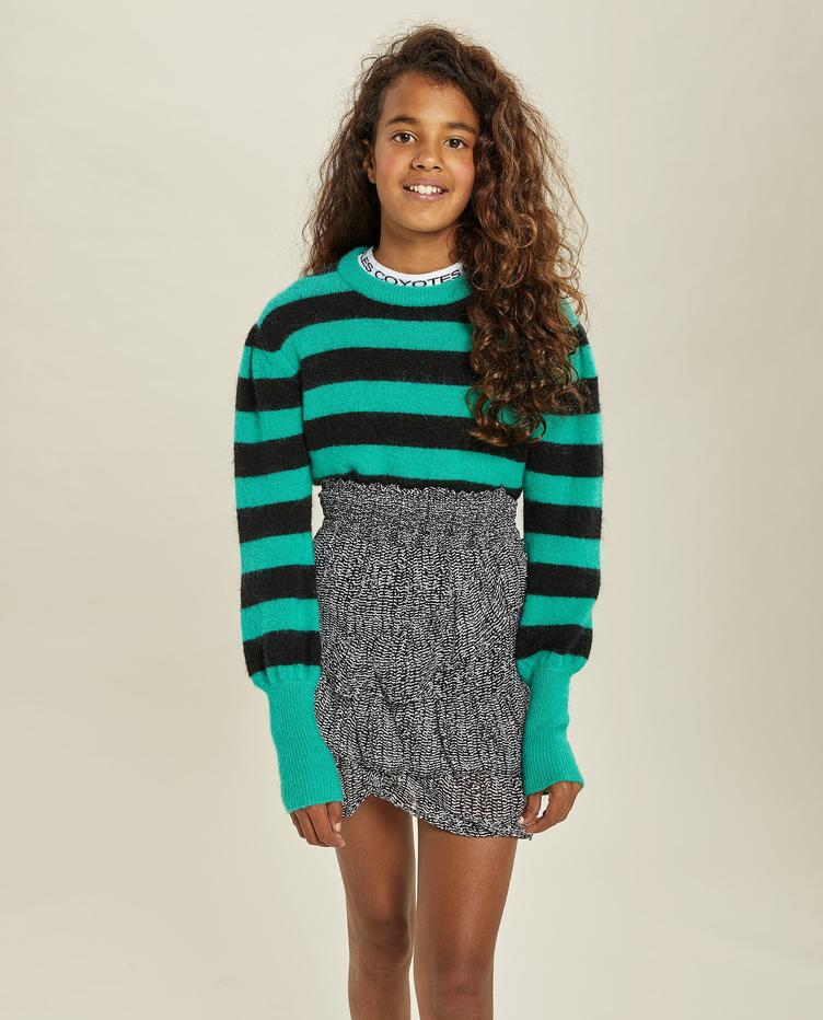 Julia Pullover - ming green/black