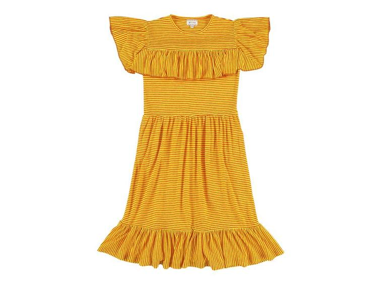 Kleid Lucky Stripe Yellow