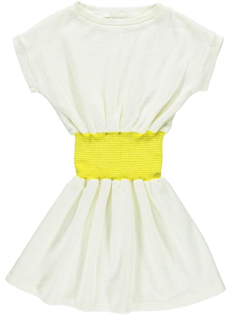 Kleid Nina in Terry - vanilla