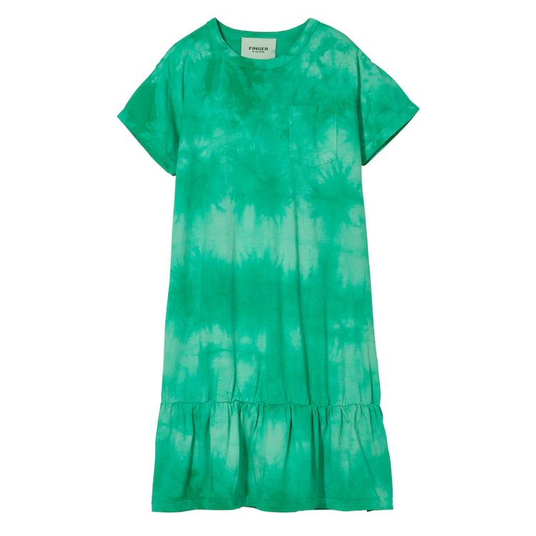 Kleid Patti in Milky Mint Tie & Dye