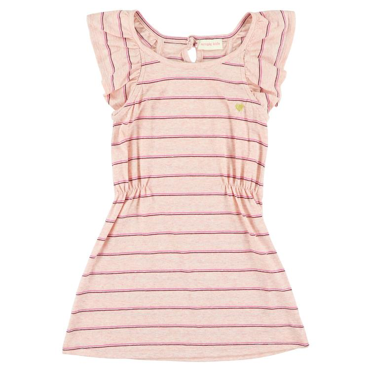 Kleid Ruth Stripes - Rose