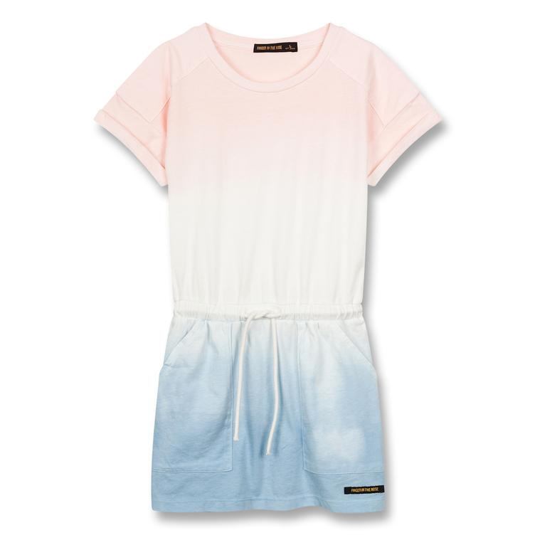 Kleid School Multicolor Dip Dye