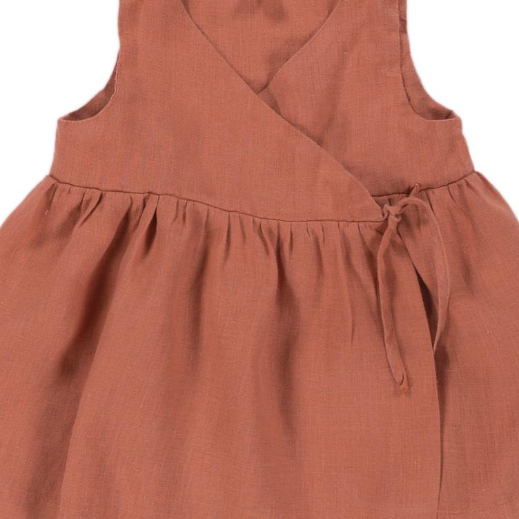 Kleid Villa - Sienna Orange - 1