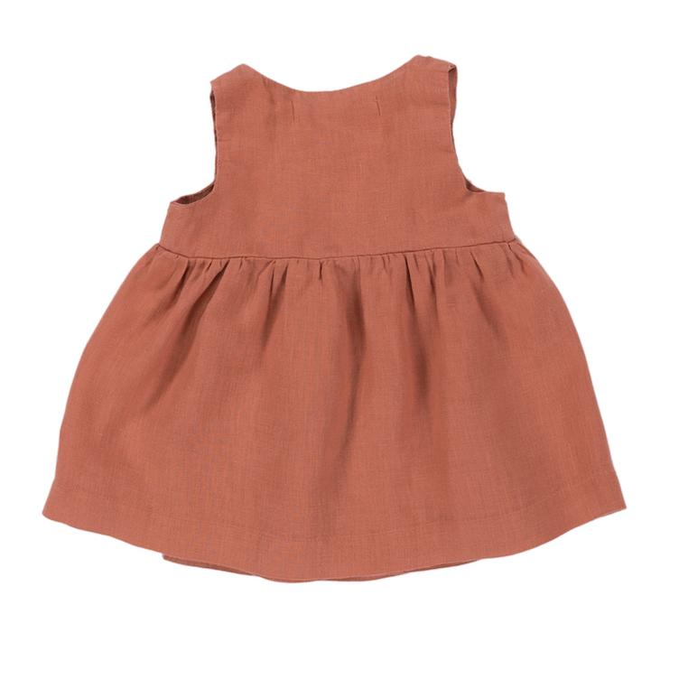 Kleid Villa - Sienna Orange - 0