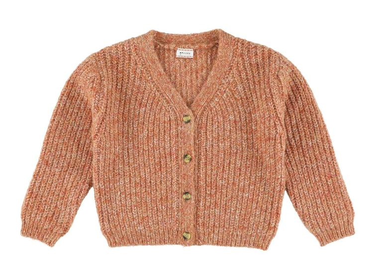 Kristal Cardigan - Woodsmoke Frosty Maples